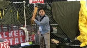 I am at Walker Stalker Con!