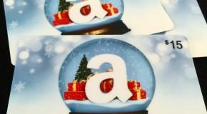 Amazon Gift cards? Don't mind if I do