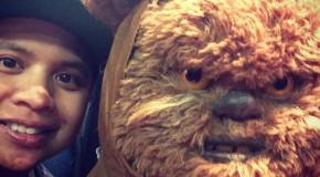 Ewok Selfie!